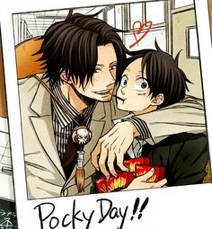 One Piece | Ace and Luffy - Pocky Day!!