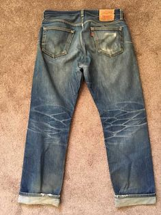 Post with 2010 views. Vintage Jeans, Trending Memes, Blue Jeans, Mens Fashion, 3 Years, Levis, How To Wear, Fit, Leather
