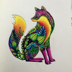 Fox From Enchanted Forest That I Recently Finished