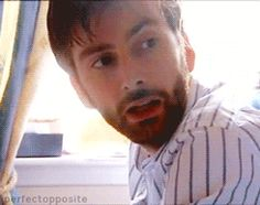 (Gif) David Tennant in who do you think you are. I actually learned some Scottish history in that.