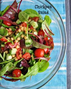 Chickpea Salad Recipe from Nomsies Kitchen