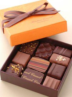 2008年12月に日本上陸した、フレデリック・カッセル。バレンタイン限定先行予約で、フレデリック・カッセルの味をゲットして。これを食わずしてチョコ通を語るなかれ。