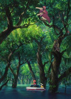 崖の上のポニョ(2008) Ponyo