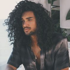 Black Men Haircuts 40 Stylish Trendy Long Hairstyles For Long Curly Hairstyles . Black Men Haircuts 40 Stylish Trendy Long Hairstyles For Long Curly Hairstyles And Haircuts Guide F Curly Hair Styles, Natural Hair Styles, Long Curly Hair Men, Men With Long Hair, Long Hair Guys, Curly Afro, Straight Hair, Hair Men Style, Style Men