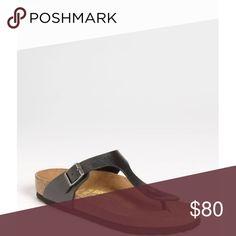 c9728a214200 BIRKENSTOCK Gizeh Birko-Flor™ Thong Licorice Gorgeous Birkenstock Sandals