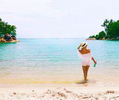 Paradise in Sentosa Beach Singapore