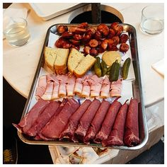 Platter-of-Sausages-on-Eating-Prague-Food-Tour   Foods to Eat in Prague