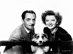 William Powell, Myrna Loy...My Favorite Film couple. Never disappointed with these two!  :D