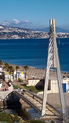Fuengirola Bridge Photograph Fuengirola in Malaga, Andalusia, Spain