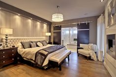 10 Stunning Solutions For Your Dream Master Bedroom - Decor Savage Dream Master Bedroom, Home Bedroom, Home Living Room, Bedroom Decor, Bedroom Suites, Master Bedrooms, Bedroom Ideas, Bedroom Balcony, Master Suite
