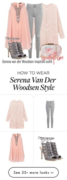 """Serena van der Woodsen inspired outfit/GG"" by tvdsarahmichele on Polyvore"