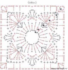 Квадратные мотивы с цветами крючком (2) (511x529, 202Kb)