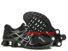 new style f0924 fa65c Shox Nike Shox Agent Black White Shoes  Nike Shox Agent - A sculpted Nike  Shox top plate distributed impact pressure more evenly across the heel and  added ...
