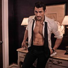David Gandy, Male Model, Beautiful Men, Handsome, Eye Candy , Sexy, Shirtless デイビッド・ガンディ 男性モデル