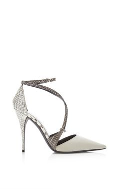 Goat And Printed Ayres Ava Strappy Pump by Narciso Rodriguez for Preorder on Moda Operandi