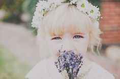 Inspiration for a French Lavender Wedding with Daisy Gifts Flower Girl Bouquet, Lavender Bouquet, Flower Bouquet Wedding, Flower Girls, French Wedding Style, Country Style Wedding, Purple Wedding, Floral Wedding, Wedding Day
