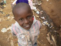 Kibera (near nairobi,kenya)--The largest slum in Africa. Most of the children have never left it, but their smiles are still so big! Puts life into perspective every day for me thinking about them.