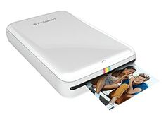 Polaroid ZIP Wireless Mobile Photo Mini Printer (White) Compatible w/ iOS & Android, NFC & Bluetooth Devices Best Photo Printer, Mobile Photo Printer, Portable Photo Printer, Photo Polaroid, Euro, Mobile Photos, New Mobile, Mobile App, Tech Gifts