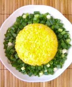 egg fried rice(with many chives)