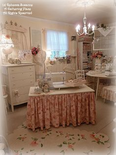 A GATHERING PLACE IN THE MAKING ~Where Bloggers Create II~... Pink Saturday, Too~