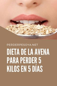 Dieta de avena para perder 5 kg en 5 días Junk Food, Great Recipes, Healthy Recipes, Natural Beauty Recipes, Nutrition, Cooking Instructions, Mo S, How To Lose Weight Fast, Meal Planning