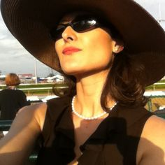 Kentucky Derby: yours truly basking in the Kentucky sunshine in 2011.