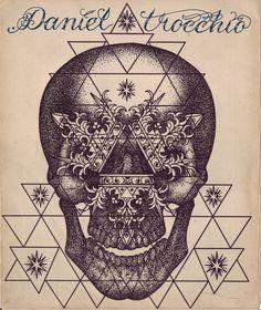 Geometric skull by Daniel Trocchio