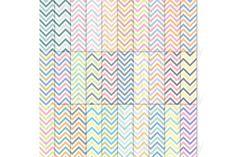 30 Set Chevron Digital Paper by YenzArtHaut on Creative Market