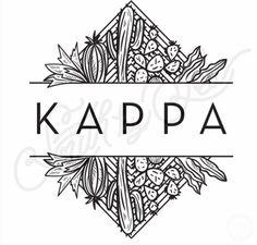 Kappa Kappa Gamma | KKG | Cactus T-Shirt Design | Southwest T-Shirt Design…