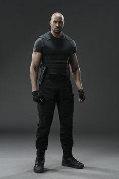"Agents of S.H.I.E.L.D. S3 Henry Simmons as ""Alphonso 'Mack' Mackenzie"""