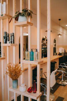 Home Beauty Salon, Home Hair Salons, Beauty Salon Interior, Salon Interior Design, Home Salon, Living Room Partition Design, Barber Shop Decor, Home Entrance Decor, Luxury Home Furniture