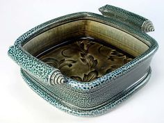 Ceramics by Jon Faulkner at Studiopotterycouk - 2012 click now for more info. Slab Pottery, Pottery Bowls, Ceramic Pottery, Pottery Art, Pottery Ideas, Ceramic Clay, Ceramic Plates, Earthenware, Stoneware