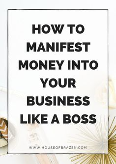 Learn how to manifest money in these 6 steps. Plus, grab my free guide where I share my daily mindset practice that shows you how you can manifest money. Make Money Blogging, Money Tips, How To Make Money, Saving Money, Business Tips, Online Business, Affirmations, Quotes Dream, Manifesting Money