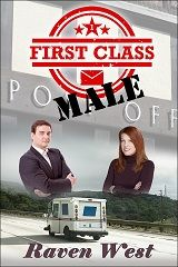 It is with great joy that I'm announcing the re-publication of First Class Male with a fantastic new cover and new price! It is already available in ebook format on Smashwords.com and will soon be re-released in print on Amazon!