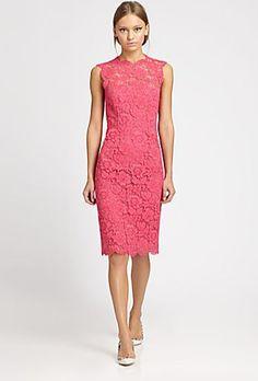 Valentino Fuchsia Evening Dress from Jen Lilley's closet! @jen Lilley  https://www.stylitics.com/items/117986