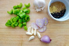 Pickled potato accoutrements