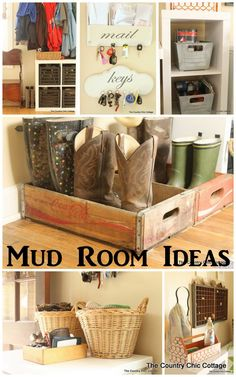 A great mud room with farmhouse style featuring organization and ideas that you can use for your own home. Awesome mix of vintage items with modern prints.  Thanks to @bhglivebetter for sponsoring!   #bhglivebetter   #bhglivebetternetwork