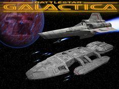 classic battlestar galactica | La Baulera.