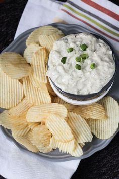 Vegan French Onion Dip with Dill | Veggie Inspired Journey