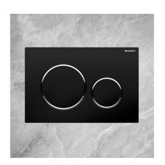 Geberit Flush Plate Sigma20 Black (115882KM1)