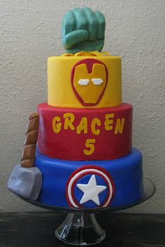 Avengers Cake | I Gotta Try That...  @Jude Collins