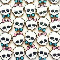 Cookies, skulls; Anime Food