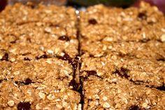 Homemade Granola Bars: Healthy snack, dessert, breakfast or sweet treat