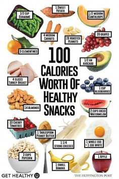 100 calories worth of healthy snacks - Nutrition How To Lose Weight quick healthy snack ideas, healthy eating, nutritiou - Clean Eating Diet Plan, Clean Eating Grocery List, Clean Eating Snacks, Eating Healthy, Eating Habits, Eating Raw, Clean Diet, Clean Eating Book, Healthy Eating Challenge
