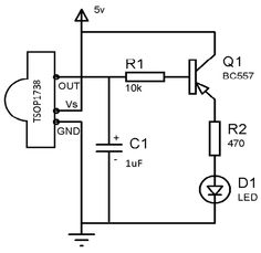 ‪#‎IR‬ Receiver Circuit | ‪#‎ElectronicCircuits‬ | ‪#‎ElectricalCircuits‬ | ‪#‎EngineeringCircuits‬.