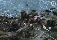 """Koloryzowana fotografia Żołnierzy Pierwszej Samodzielnej Kompanii Commando. Zdjęcia wykonane dla projektu """"Zjednoczeni Zwyciężymy"""". Historia, Fotografia"""