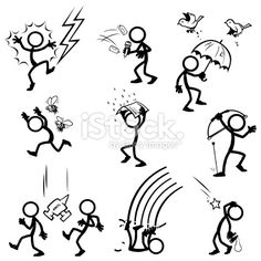 Stock Photography: Search Royalty Free Images & Photos – Portfolio: TobyBridson – iStock Source by Les Doodle, Doodle Art, Doodle Drawings, Cartoon Drawings, Doodle People, Stick Figure Drawing, Doodles, Sketch Notes, Stick Figures