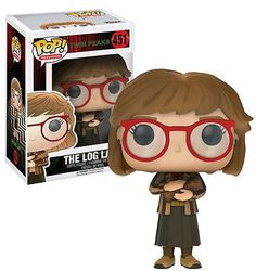 FUNKO POP! Twin Peaks The Log Lady #451 New Mint Condition #FunkoPop #Collectibles