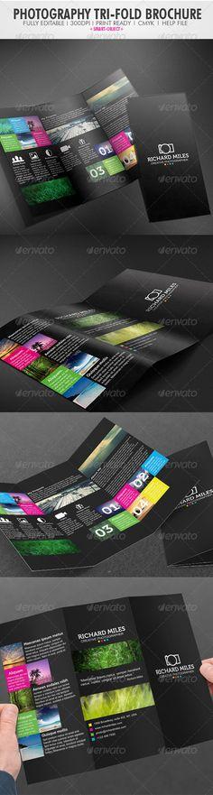Photography Tri-fold Brochure http://graphicriver.net/item/photography-trifold-brochure/3948300?WT.ac=portfolio_1=portfolio_author=Realstar
