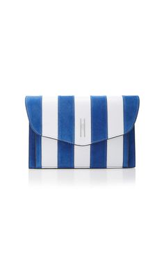 Stripe Bobby Clutch by HAYWARD for Preorder on Moda Operandi
